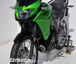 ERMAX bulle sport (35 cm) Ermax pour VERSYS X 300 2017-2019 vert fluo 2