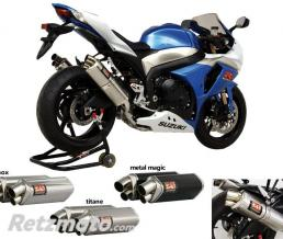 YOSHIMURA SILENCIEUX TRI-OVAL 2 METAL MAGIC POUR SUZUKI