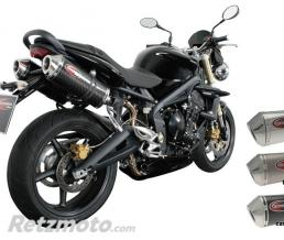 SCORPION Silencieux Scorpion Factory carbone Triumph Street Triple 675