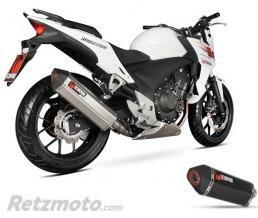 SCORPION Silencieux SCOPRION Serket Parallel carbone Honda