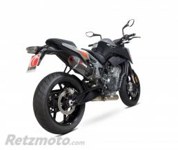 SCORPION Silencieux SCOPRION Serket Parallel carbone/casquette ABS noir KTM Duke 790