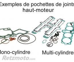 CENTAURO KIT JOINTS HAUT MOTEUR GILERA 50 RUNNER PURE JET '02-'04, NRG POWER PUREJET '02-'05