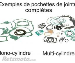 CENTAURO KIT JOINTS COMPLET POUR ROTAX 454/464 (SKI DOO) BLIZZARD 9500/ELITE LC/EVEREST LC 1979-83
