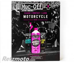 MUC-OFF Kit entretien MUC-OFF Motorcycle Clean Protect & Lube Kit