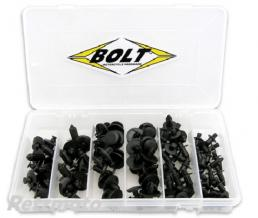 BOLT Coffret assortiment rivet plastique BOLT M6/M7/M8