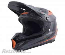 ANSWER Casque ANSWER AR5 Pulse Charcoal/orange taille L