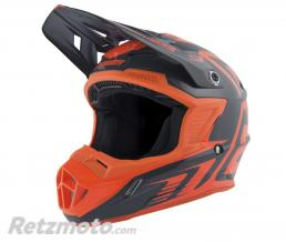 ANSWER Casque ANSWER AR1 Edge Charcoal/orange fluo taille L