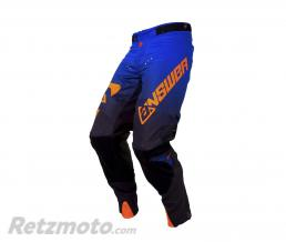 ANSWER Pantalon ANSWER Trinity noir/cobalt/orange fluo taille 32