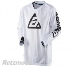 ANSWER Maillot ANSWER Elite Solid blanc taille XL