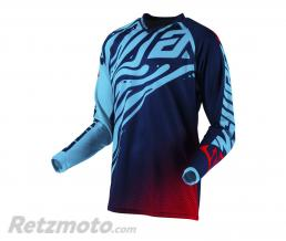 ANSWER Maillot ANSWER Syncron Flow Astana/Indigo/Bright Red taille XXL