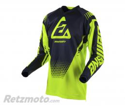 ANSWER Maillot ANSWER Syncron Drift Hyper Acid/noir taille XS