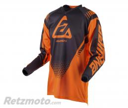 ANSWER Maillot ANSWER Syncron Drift orange fluo/Charcoal taille L