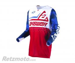 ANSWER Maillot ANSWER Elite Discord rouge/blanc taille L