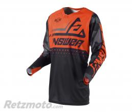 ANSWER Maillot ANSWER Elite Discord noir/orange taille S