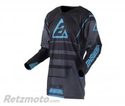 ANSWER Maillot ANSWER Elite Force Charcoal/noir/Astana taille XL