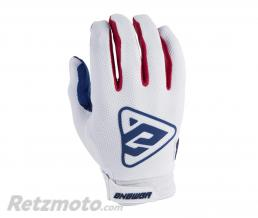 ANSWER Gants ANSWER AR3 blanc/rouge taille M
