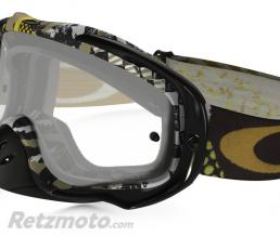 OAKLEY Masque OAKLEY Crowbar Enduro Mosh Pit Gold écran transparent