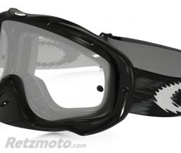 OAKLEY Masque OAKLEY Crowbar Jet Black Speed écran transparent