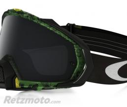 OAKLEY Masque OAKLEY Mayhem Pro Distress Tagline Green écran Dark Grey