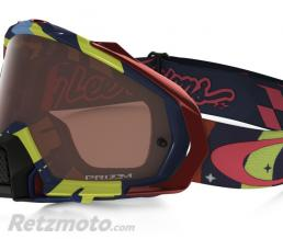 OAKLEY Masque OAKLEY Mayhem Pro Troy Lee Designs écran Prizm MX Bronze