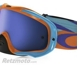 OAKLEY Masque OAKLEY Crowbar Heritage Racer Bright Orange écran Ice Iridium