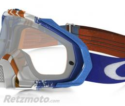 OAKLEY Masque OAKLEY Mayhem Pro Pinned Race Blue/Orange écran transparent