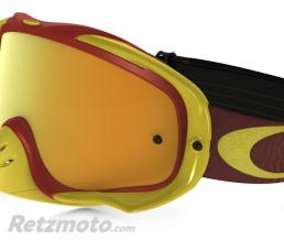 OAKLEY Masque OAKLEY Crowbar Shockwave Yellow/Bright Red écran 24K Iridium + transparent