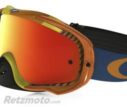 OAKLEY Masque OAKLEY Crowbar Biohazard orange écran Fire Iridium