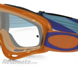 OAKLEY Masque OAKLEY XS O Frame Heritage Racer Bright Orange écran transparent