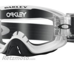 OAKLEY Masque OAKLEY O Frame 2.0 Race-Ready Roll-Offs Matte White écran transparent