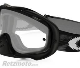 OAKLEY Masque OAKLEY Crowbar Enduro Jet Black Speed écran double transparent