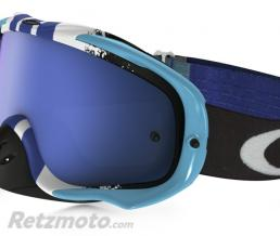 OAKLEY Masque OAKLEY Crowbar Pinned Race Blue/White écran Ice Iridium