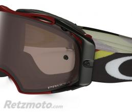 OAKLEY Masque OAKLEY Airbrake Heritage Racer Bright Red écran Prizm MX Black Iridium