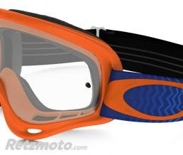 OAKLEY Masque OAKLEY O Frame Shockwave Orange/Blue écran transparent