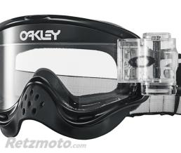 OAKLEY Masque OAKLEY O Frame Race-Ready Roll-Offs Jet Black écran transparent