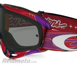 OAKLEY Masque OAKLEY XS O Frame Troy Lee Designs Reflection Orange/Purple écran Dark grey
