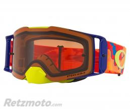 OAKLEY Masque OAKLEY Front Line Thermocamo Orange écran Prizm MX Bronze