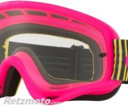 OAKLEY Masque OAKLEY O Frame Shockwave Pink/Yellow/Green écran transparent