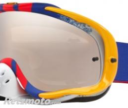 OAKLEY Masque OAKLEY Crowbar Pinned Race Red/Blue écran Black iridium