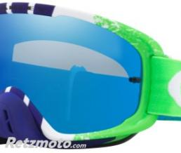 OAKLEY Masque OAKLEY O Frame 2.0 Pinned Race Green/Blue écran Black Ice Iridium