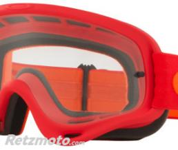 OAKLEY Masque OAKLEY O Frame Red Orange écran transparent
