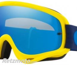 OAKLEY Masque OAKLEY O Frame Yellow/Navy écran Black Ice Iridium