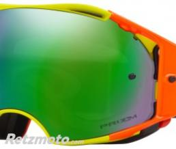 OAKLEY Masque OAKLEY Airbrake Thermo Camo Army Orange écran Prizm MX Bronze