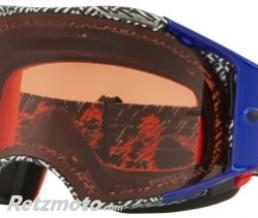 OAKLEY Masque OAKLEY Airbrake Dazzle Dyno Orange/Blue écran Prizm MX Bronze