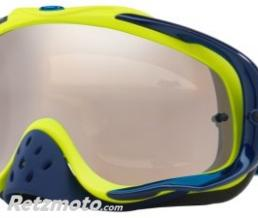 OAKLEY Masque OAKLEY Crowbar Thermo Camo Blue/Lime écran Black Iridium