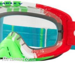 OAKLEY Masque OAKLEY O Frame 2.0 Pinned Race Red/Green écran transparent