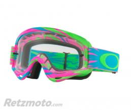 OAKLEY Masque OAKLEY XS O Frame Highvoltage Pink/Blue écran transparent