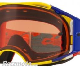 OAKLEY Masque OAKLEY Airbrake Thermo Camo Yellow/Blue écran Prizm MX Bronze