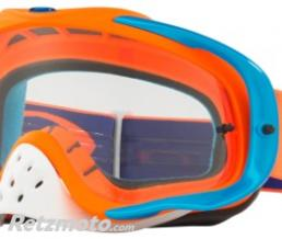 OAKLEY Masque OAKLEY Crowbar Orange/Blue écran transparent
