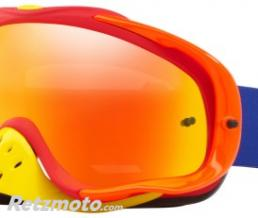 OAKLEY Masque OAKLEY Crowbar Blue Red écran Fire Iridium